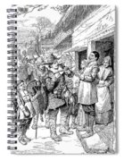 Pilgrims: Thanksgiving, 1621 Spiral Notebook