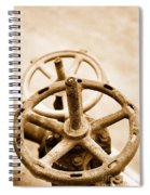 Pipeline Valves Spiral Notebook