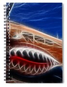 Plane Flying Tigers Spiral Notebook