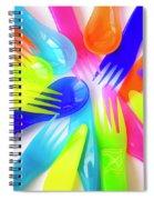 Plastic Cutlery Spiral Notebook