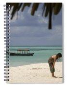 Pongwe Beach Hotel  Spiral Notebook
