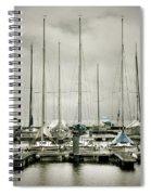 Port On A Rainy Day Spiral Notebook