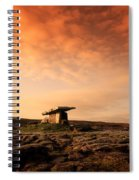 Poulnabrone Dolmen, The Burren, Co Spiral Notebook