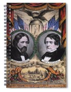 Presidential Campaign, 1856 Spiral Notebook