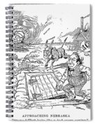 Presidential Campaign, 1900 Spiral Notebook