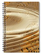 Printed Circuit Spiral Notebook