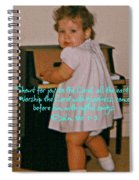 Psalm 100 Spiral Notebook