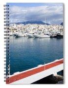 Puerto Banus In Spain Spiral Notebook
