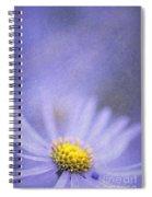 Purple Aster Spiral Notebook