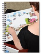 Puzzle Therapy Spiral Notebook