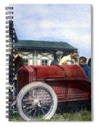 Race Car, 1914 Spiral Notebook