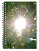 Rainbow Rays Spiral Notebook