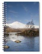 Rannoch Moor - Winter Spiral Notebook