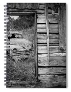 Ravages Of Time Spiral Notebook