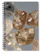 Raw Diamonds Spiral Notebook