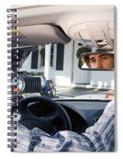 Rear-view Mirror Spiral Notebook