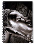 Reclining Buddha Spiral Notebook