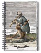 Recorder, 1723 Spiral Notebook
