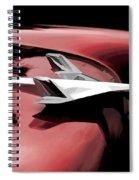 Red Chevy Jet Spiral Notebook