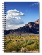 Red Mountain  Spiral Notebook