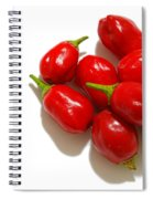 Red Peppers Spiral Notebook