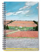 Red Soil On Prince Edward Island Spiral Notebook