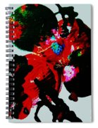Red Spider Nebula Spiral Notebook