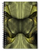 Reptilian - Green Spiral Notebook