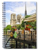 Restaurant On Seine Spiral Notebook