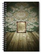 Retro Room Interior Spiral Notebook