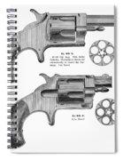 Revolvers, 19th Century Spiral Notebook