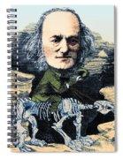 Richard Owen, English Paleontologist Spiral Notebook