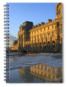 Richelieu Wing Of The Louvre Museum In Paris Spiral Notebook