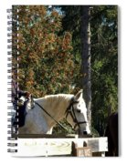 Riding Soldiers Spiral Notebook