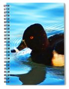 Ringbill Duck Spiral Notebook