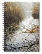 River In The Fog Spiral Notebook