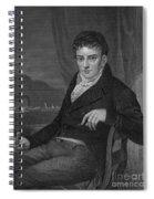 Robert Fulton, American Engineer Spiral Notebook