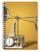 Robinsons Anemometer, 1846 Spiral Notebook