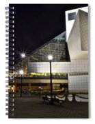 Rock And Roll Hall Of Fame Spiral Notebook