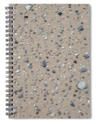 Rocks Sorted By The Wind Spiral Notebook