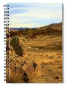 Rocky Painted Hills Spiral Notebook