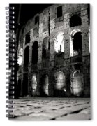 Roman Night Spiral Notebook