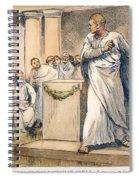 Roman Senate: Catiline Spiral Notebook