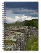 Roman Wall Country Spiral Notebook