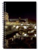Rome Ponte San Angelo Spiral Notebook