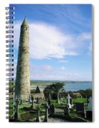 Round Tower, Ardmore, Co Waterford Spiral Notebook