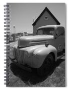 Route 66 Truck And Gas Station Spiral Notebook