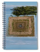 Rowan Of The Island Spiral Notebook
