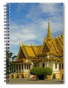 Royal Palace Spiral Notebook