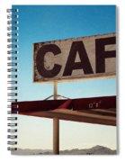 Roy's Cafe Spiral Notebook